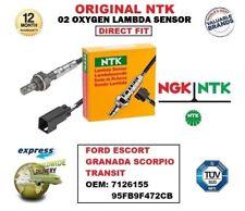 NTK O2 SONDA LAMBDA PER FORD ESCORT GRANADA TRANSIT 7126155 95FB9F472CB