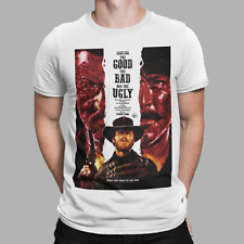 The Good The Bad & The Ugly T-Shirt MOVIE FILM COWBOY Eastwood Western Tee 2