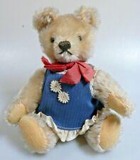 Original alter STEIFF Teddy / Teddybär, blond; 18 cm