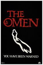 Vintage Gregory Peck Horror Movie Poster The Omen