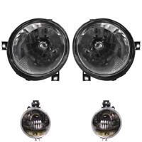 Scheinwerfer + Blinker Set Satz H4 VW Lupo 6X1 6E1 Bj. 09.98 - 07.05 klar chrom