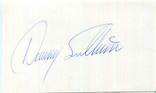 AUTHENTIC legendary Indy race car driver Danny Sullivan signed on card