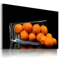 ORANGES FRUITS KITCHEN FOOD Canvas Wall Art Picture Large SIZES  F19  MATAGA .
