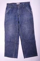 Tommy Hilfiger Denim Jeans Hose Herren Vintage Retro Blau Größe W32 L32