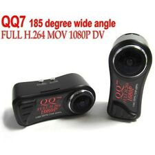 QQ7 MINI 12MP CAMERA FULL HD H.264 720p/60fps 1080p/30fps VIDEO DVR 185º DEGREES
