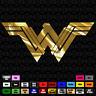 Wonder Woman D.C. Comics Sticker Decal Window Vinyl laptop cell car MS 042