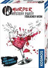 Kosmos Verlag Murder Mystery Party - Tödlicher Wein Krimi Dinner für Zuhause