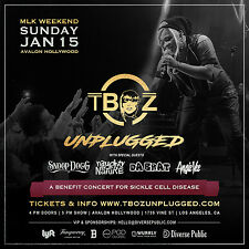 T-Boz (Tlc)/ Snoop Dogg / Naughty By Nature 2017 Los Angeles Concert Tour Poster
