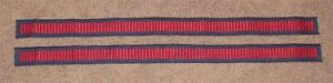 """Star Wars """"New Hope"""" Han Solo Pants Embroidered EXTRA LONG Side stripes"""