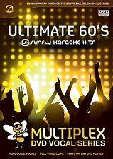 ULTIMATE 60'S - SUNFLY MULTIPLEX KARAOKE DVD - 12 HIT SONGS