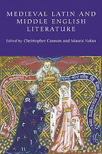 Medieval Latin and Middle English Literature: Essays in Honour of Jill Mann, New