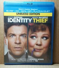 Identity Thief (Blu-ray/DVD, 2013, 2-Disc Set, Rated/Unrated)