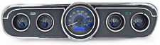 Dakota Digital 65 66 Mustang Analog Dash Gauges Carbon Fiber / Blue VHX-65F-MUS