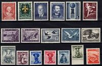 PP135019/ AUSTRIA STAMPS – YEARS 1948 - 1953 MINT MNH / MH – CV 262 $
