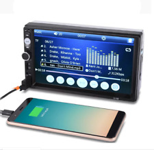 """Bluetooth Car Stereo Radio 2 DIN 7"""" HD MP5 FM Player Touch Screen"""