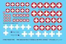 FFSMC Productions Decalcomanie 1/72 SECONDA GUERRA MONDIALE Swiss neutralità