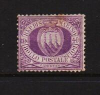 San Marino - #17 mint, cat. $ 925.00