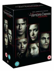 """THE VAMPIRE DIARIES COMPLETE SERIES COLLECTION 1-8 DVD BOX SET 43 DISC R4 """"NEW"""""""