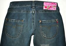 """Replay Men's Factory Distressed """"Dirty"""" Blue Jeans Size 29 X 34.5 Long AWESOME"""