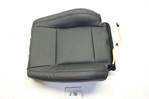 NEW OEM MITSUBISHI MONTERO PAJERO 07-15 BLACK LEATHER UPPER SEAT COVER RH
