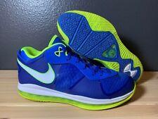 "Men's 2011 Nike LeBron 8 VIII V2 Low ""Sprite"" 456849-401 Size 11.5"