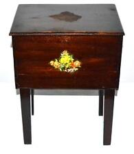 Vintage Ladies Working Table Sewing Box  - FREE Shipping [PL3151]