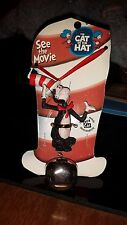 DR SEUSS CAT IN THE HAT THE MOVIE BELL NECKLACES  Figure Resin red ribbon