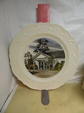 LITTLE WHITE HOUSE PLATE , WARM SPRINGS ,GEORGIA - MADE ESPECIALLY FOR STUCKEY'S
