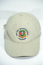 81st PGA Championship Medinah 1999 Golf Hat Cap Tan Adjustable Strap