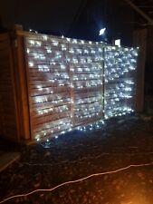 LED Christmas Tree Net Mesh Curtain Light Lamp Garden Decor outdoor 3m x 3m