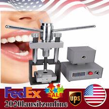 9pcs Flexible Dental Flask For Dental Equipment Of Denture Injection System 400w