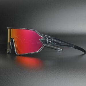 New Polarized Cycling Glasses Bike Goggles Fishing Sunglasses UV400 5 Lens 828GB
