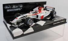 Modellini statici di auto da corsa Formula 1 multicolore pressofuso BAR