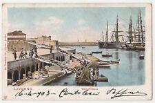 CARTOLINA - 1903 LIVORNO MOLO MEDICEO RIF. 667/C