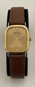 Vintage Hamilton Masterpiece Watch Quartz Hamilton 9314A Masterpiece