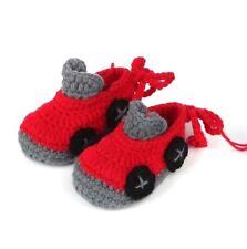 Red Race Car Booties Newborn - 6 Months- Australian supplier