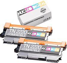 2X Toner compatible TN2010 para Brother HL-2135W - HL2135 W - HL 2135 W  TN-2010