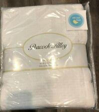 3 pc Peacock Alley KING Coverlet Set w/ 2 shams White Stonewashed Matelasse New