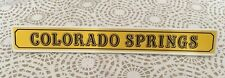 Panneau Gare Colorado Springs Playmobil 3770 6462