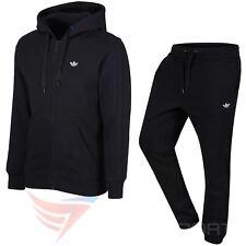 Adidas Originals classice Trébol Chándal Polar Negro S M L XL Cálido Gimnasio