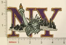 NEW YORK Statue Of Liberty Travel Souvenir Iron On PATCH