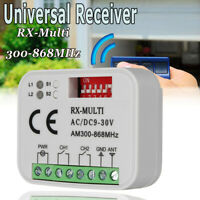 Universal Receiver Compatible 433-868Mhz Garage Remote Control For Liftmaster