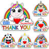 Unicorn Trail Rainbow Window Sticker Thank You NHS Key Workers Charity Decal