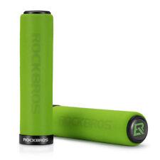 RockBros Bike Single Lock Sponge Soft Bicycle Handlebar Grips 22.2mm Green