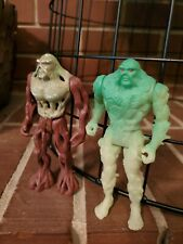 Swamp Thing Action figures Two