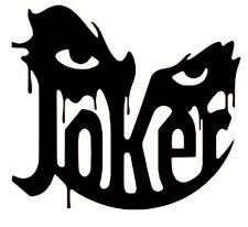 Joker Vinyl Decal Sticker Car Window Etc