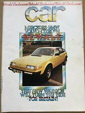 Car Magazine - April 1976 - Rover SD1, Allegro v 131 v GS Estates, BMW 633CSi