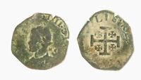 r38_243) Napoli Filippo IV (1621-1665) - Grano 1622  MC