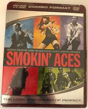 Smokin Aces (HD DVD, 2007, HD DVD) Ryan Reynolds Alicia Keys Andy Garcia SEALED