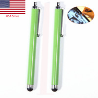 2pcs Capacitive Pen Touch Screen Stylus Pencil For iPhone Tablet iPod Samsung PC